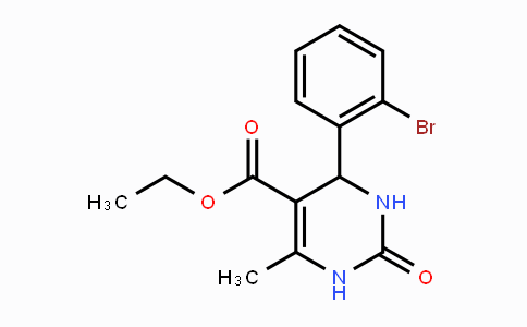 283593-06-6 | Ethyl 4-(2-bromophenyl)-6-methyl-2-oxo-1,2,3,4-tetrahydropyrimidine-5-carboxylate