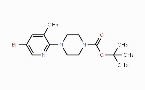 878809-70-2 | 5-Bromo-2-(4-BOC-piperazin-1-yl)-3-methylpyridine