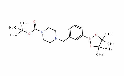 883738-19-0 | 3-(4-Boc-1-piperazinylmethyl)benzeneboronic acid pinacol ester