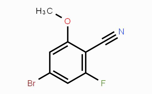 457051-15-9 | 4-Bromo-2-fluoro-6-methoxybenzonitrile