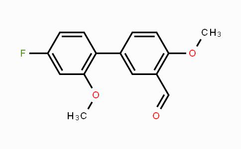 MC451443 | 408372-67-8 | [1,1'-Biphenyl]-3-carboxaldehyde, 4'-fluoro-2',4-dimethoxy-