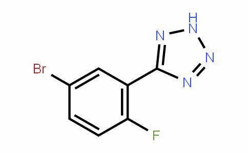 874784-09-5 | 5-(5-Bromo-2-fluorophenyl)-2H-tetrazole