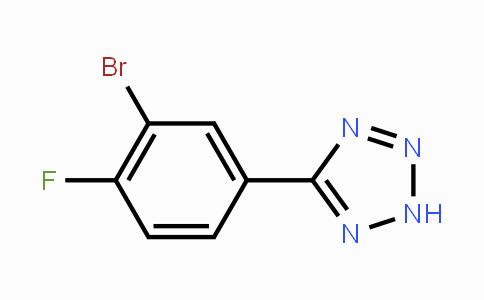 874784-10-8   5-(3-Bromo-4-fluorophenyl)-2H-tetrazole
