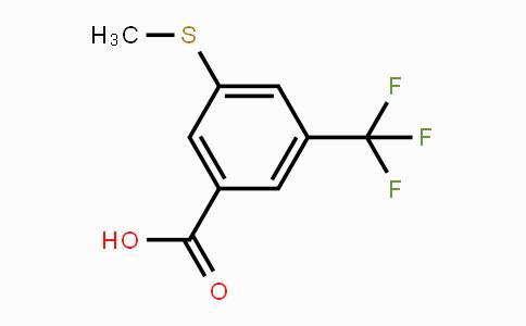 53985-40-3 | 3-(Methylthio)-5-(trifluoromethyl)benzoic acid