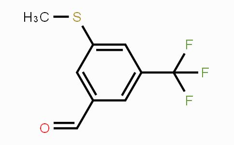 868166-29-4 | 3-(Methylthio)-5-(trifluoromethyl)benzaldehyde