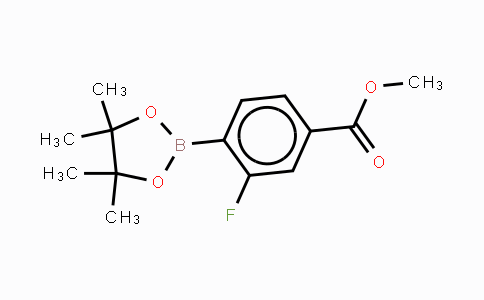 603122-79-8 | 2-Fluoro-4-(methoxycarbonyl)phenylboronic acid,pinacol ester