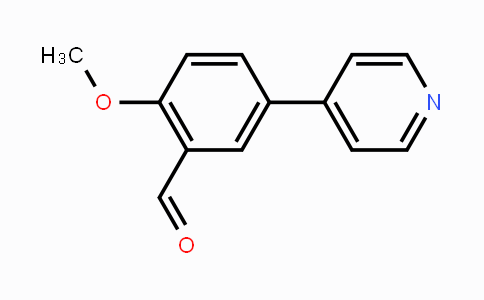 MC451631 | 385802-40-4 | 2-Methoxy-5-(pyridin-4-yl)benzaldehyde