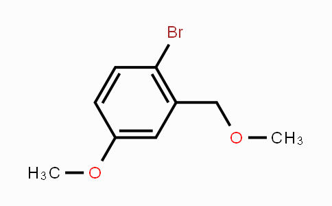 94527-39-6 | 1-Bromo-4-methoxy-2-(methoxymethyl)benzene