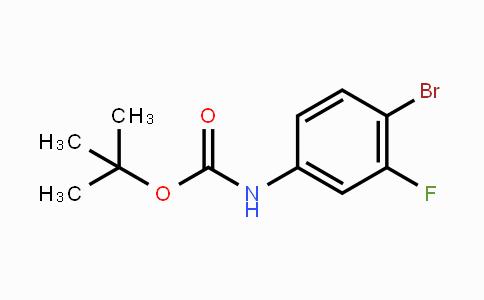 868735-43-7 | tert-butyl N-(4-bromo-3-fluorophenyl)carbamate