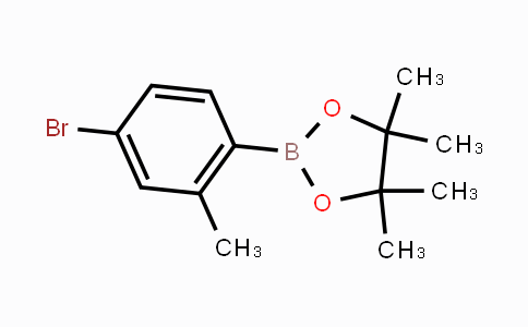 321574-04-3 | 2-(4-Bromo-2-methylphenyl)-4,4,5,5-tetramethyl-1,3,2-dioxaborolane