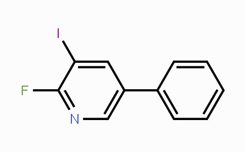 928822-81-5 | 2-Fluoro-3-iodo-5-phenylpyridine