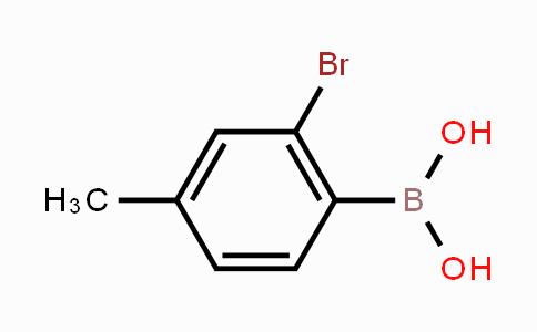 854636-01-4 | 2-Bromo-4-methylphenylboronic acid