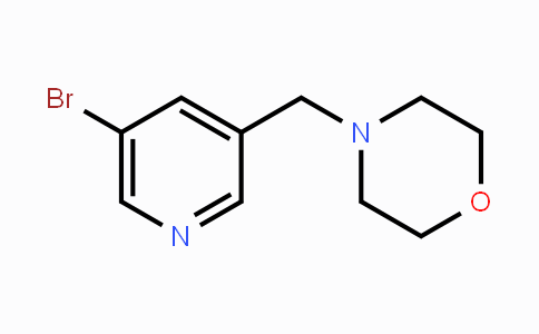 364793-91-9 | 4-((5-Bromopyridin-3-yl)methyl)morpholine