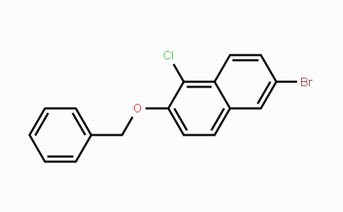 MC451836 | 887343-51-3 | 6-Benzyloxy-2-bromo-5-chloronaphthalene