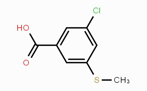 53985-46-9 | 3-Chloro-5-(methylthio)benzoic acid