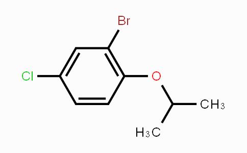 201849-19-6 | 2-Bromo-4-chloro-1-isopropoxybenzene