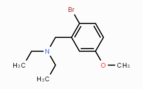 MC451955 | 1394291-48-5 | 2-Bromo-5-methoxy-N,N-diethylbenzylamine