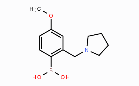 DY451957 | 1451392-11-2 | 4-Methoxy-2-(pyrrolidin-1-ylmethyl)phenylboronic acid