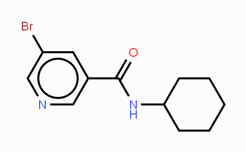 342013-85-8 | N-Cyclohexyl 5-bromonicatinamide