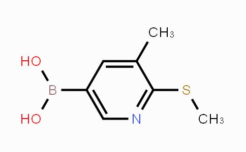 DY452035 | 1190206-49-5 | 3-Methyl-2-(methylthio)pyridine-5-boronic acid
