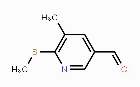 DY452044 | 1289077-74-2 | 5-Methyl-6-methylsulfanyl-pyridine-3-carbaldehyde