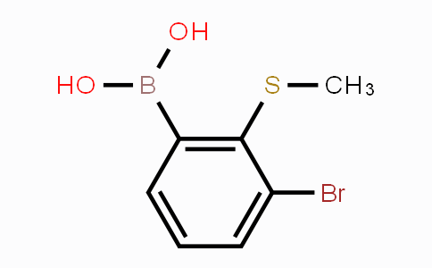 MC452075 | 2121513-98-0 | 3-Bromo-2-(methylthio)phenylboronic acid