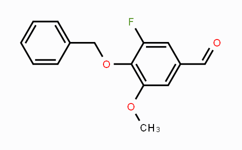 MC452089 | 99387-67-4 | 4-Benzyloxy-5-fluoro-3-methoxybenzaldehyde