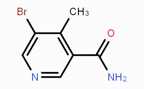 677702-08-8 | 5-Bromo-4-methyl-3-pyridinecarboxamide