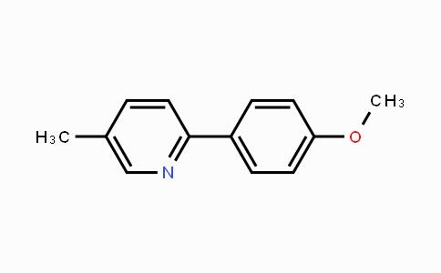 25363-55-7 | 5-Methyl-2-(4-methoxyphenyl)pyridine