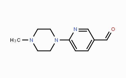 261715-38-2 | 6-(4-Methyl-1-piperazinyl)-3-pyridinecarboxaldehyde