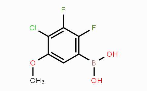 MC452186 | 2121513-09-3 | 4-Chloro-2,3-difluoro-5-methoxyphenylboronic acid