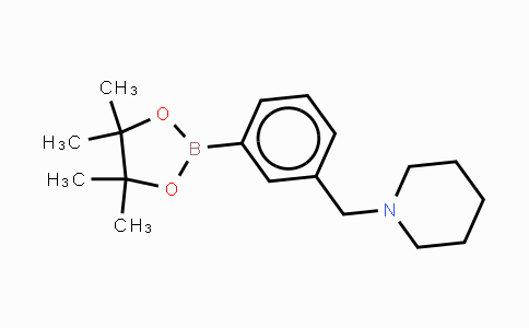 DY452212 | 859833-21-9 | 3-(Piperidin-1-ylmethyl)phenylboronic acid, pinacol ester