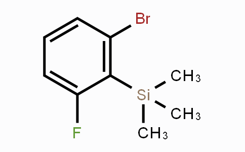 632324-41-5 | 1-Bromo-3-fluoro-2-(trimethylsilyl)benzene
