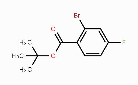 MC452222 | 951884-50-7 | tert-Butyl 2-bromo-4-fluorobenzoate