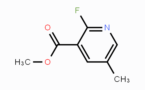 MC452247 | 1227575-36-1 | Methyl 2-fluoro-5-methylpyridine-3-carboxylate