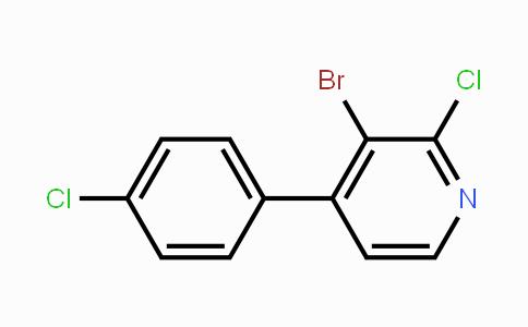 MC452346 | 917969-40-5 | 3-Bromo-2-chloro-4-(4-chlorophenyl)pyridine