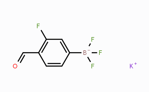 MC452353 | 1451390-71-8 | Potassium (3-fluoro-4-formylphenyl)trifluoroborate