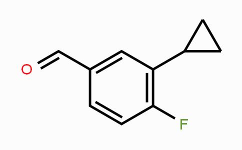 914672-67-6 | 3-Cyclopropyl-4-fluorobenzaldehyde