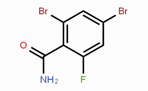 904285-17-2 | 2,4-Dibromo-6-fluorobenzamide