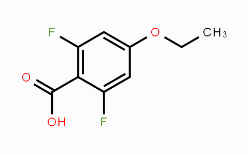 916483-56-2 | 2,6-Difluoro-4-ethoxybenzoic acid