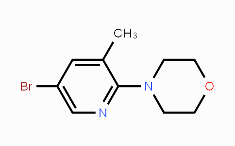 MC452530 | 566158-47-2 | 5-Bromo-3-methyl-2-(morpholino)pyridine