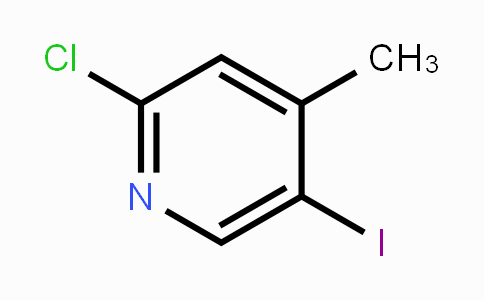 550347-54-1 | 2-Chloro-5-iodo-4-methylpyridine