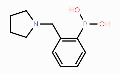 DY452660 | 878289-40-8 | 2-(1-Pyrrolidinylmethyl)phenylbronic acid