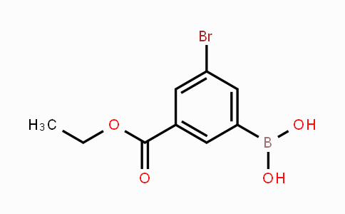 MC452675 | 913835-88-8 | 3-Bromo-5-(ethoxycarbonyl)phenylboronic acid
