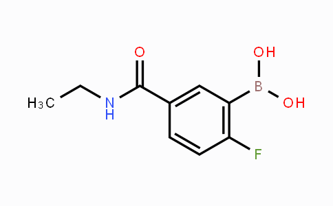 874289-45-9 | 5-(Ethylcarbamoyl)-2-fluorophenylboronic acid
