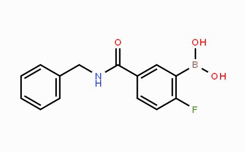 874289-53-9 | 5-(Benzylcarbamoyl)-2-fluorophenylboronic acid