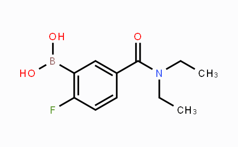 874289-47-1 | 5-(Diethylcarbamoyl)-2-fluorophenylboronic acid