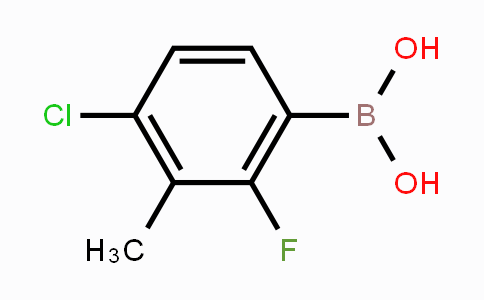 944128-92-1 | 4-Chloro-2-fluoro-3-methylphenylboronic acid