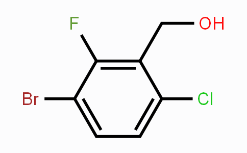 886615-31-2 | (3-Bromo-6-chloro-2-fluorophenyl)methanol