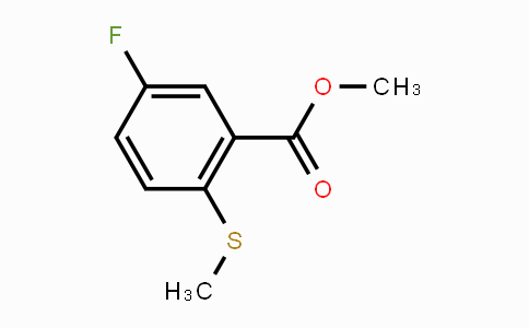 1879026-30-8 | Methyl 5-fluoro-2-(methylthio)benzoate